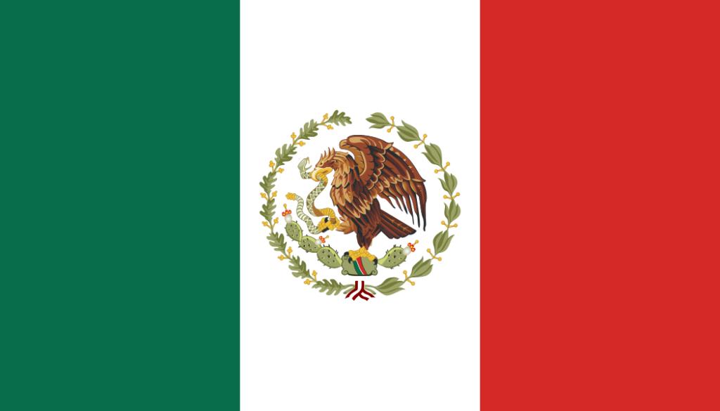 Флаг Мексики (1934-1968)