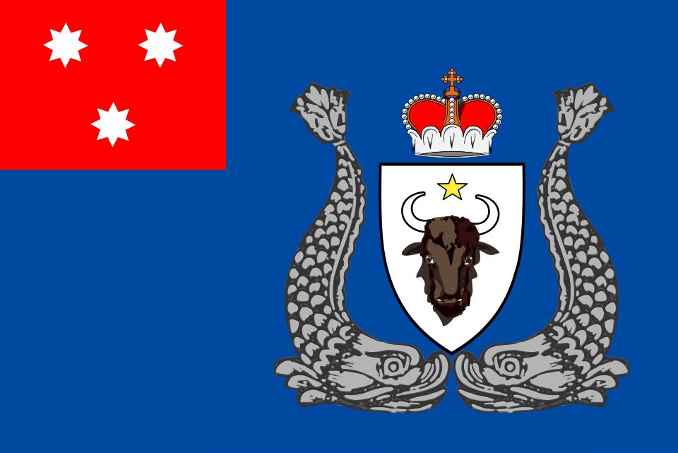 Флаг Молдавского княжества 1834—1859 годов