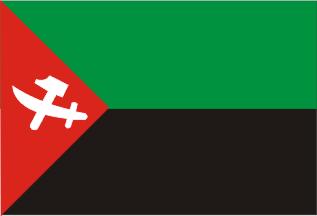 Флаг Национального Союза за независимость