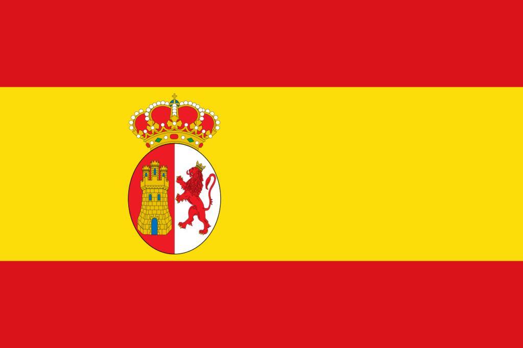 Флаг Новой Испании 1785—1821
