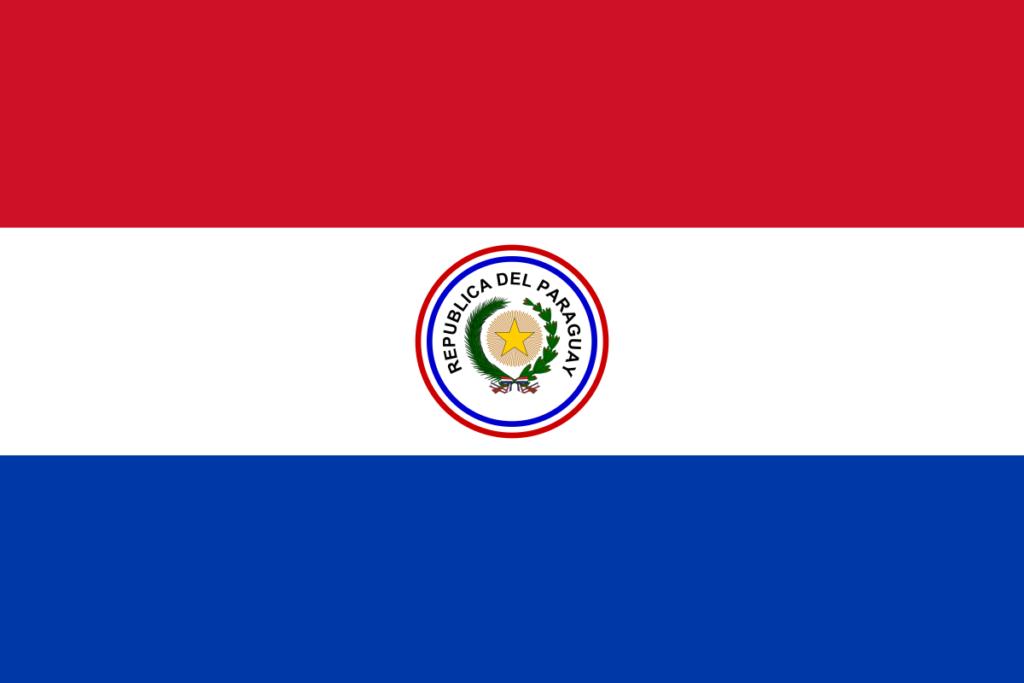 Флаг Парагвая (1842-1954)