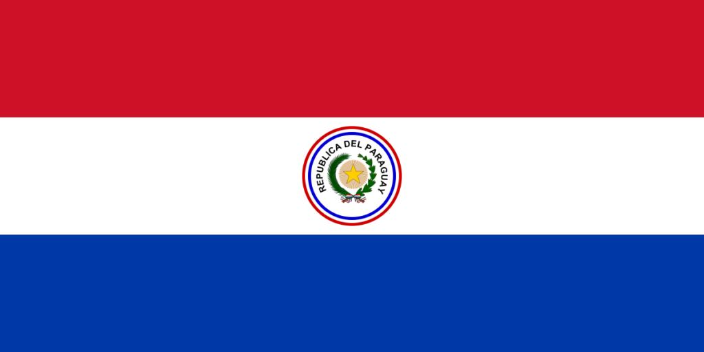 Флаг Парагвая (1954-1988)