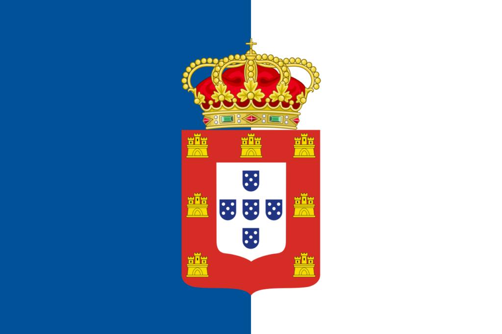 Флаг Португалии 1830—1911