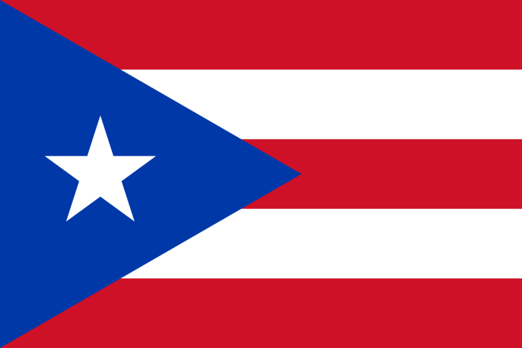 Флаг Пуэрто Рико (1952-1995)