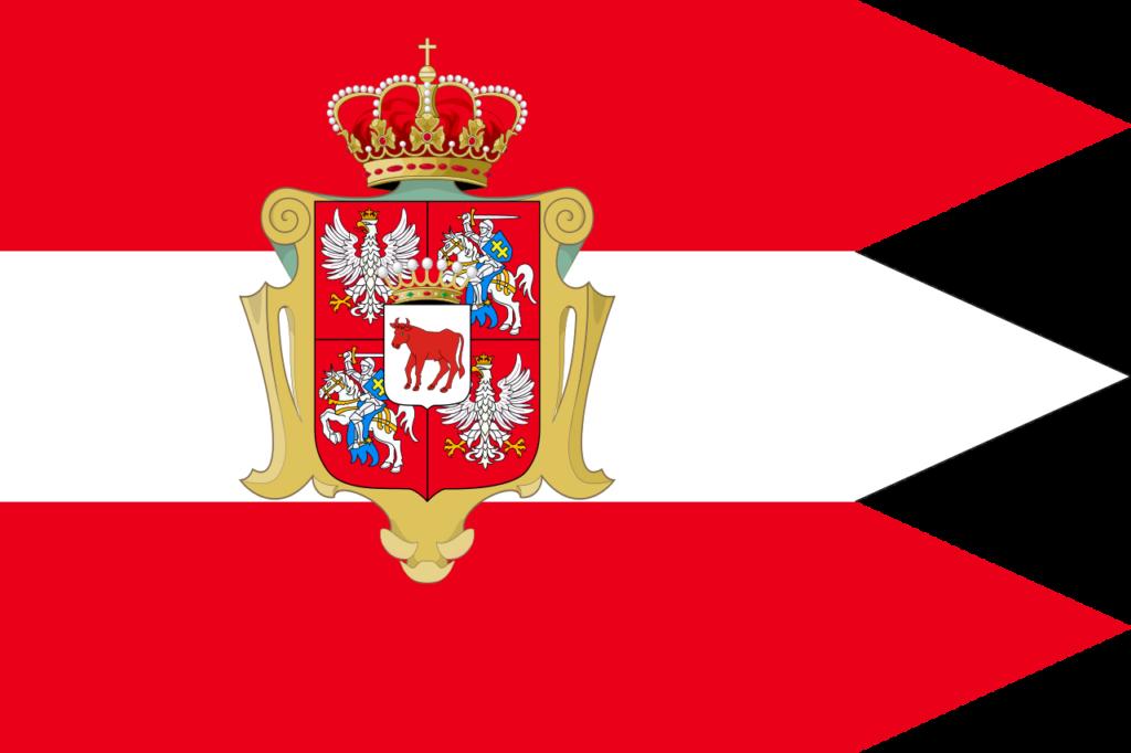 Флаг Речи Посполитой в период правления Станислава Августа Понятовского, 1764—1795