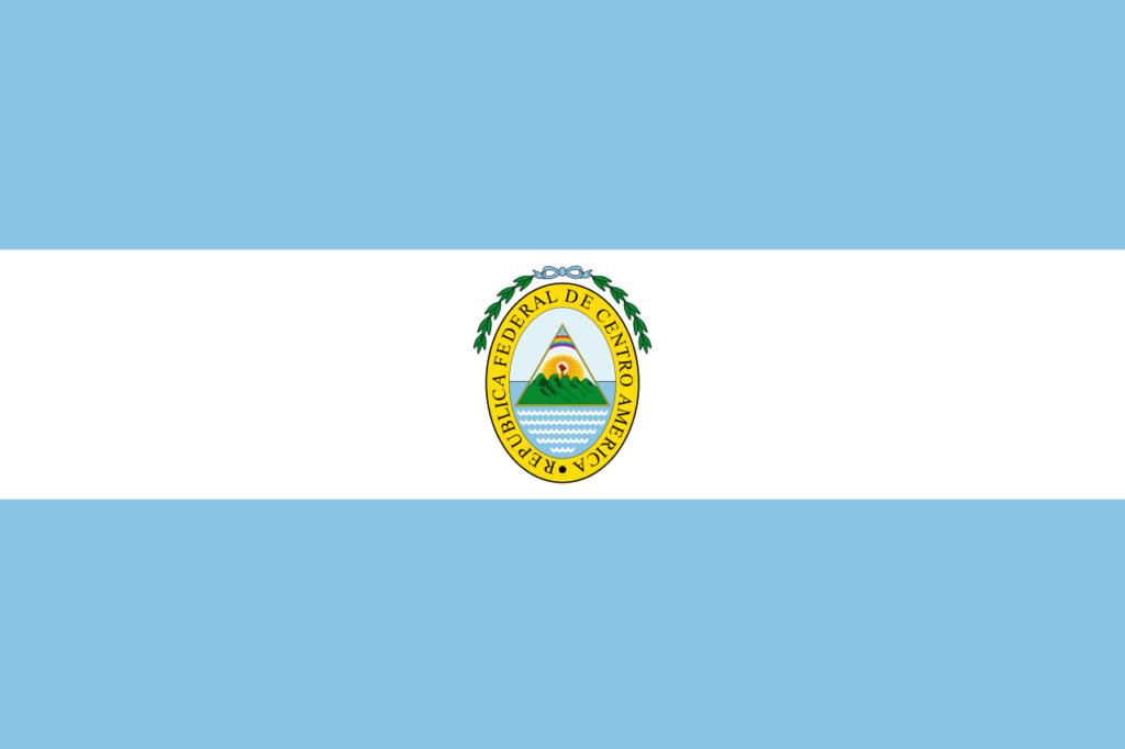 Флаг Сальвадора 1824—1841,1921 — 1922