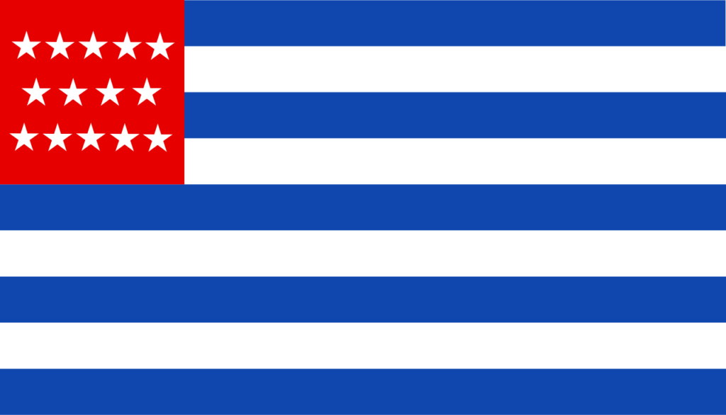Флаг Сальвадора 1877 — 2 ноября 1898