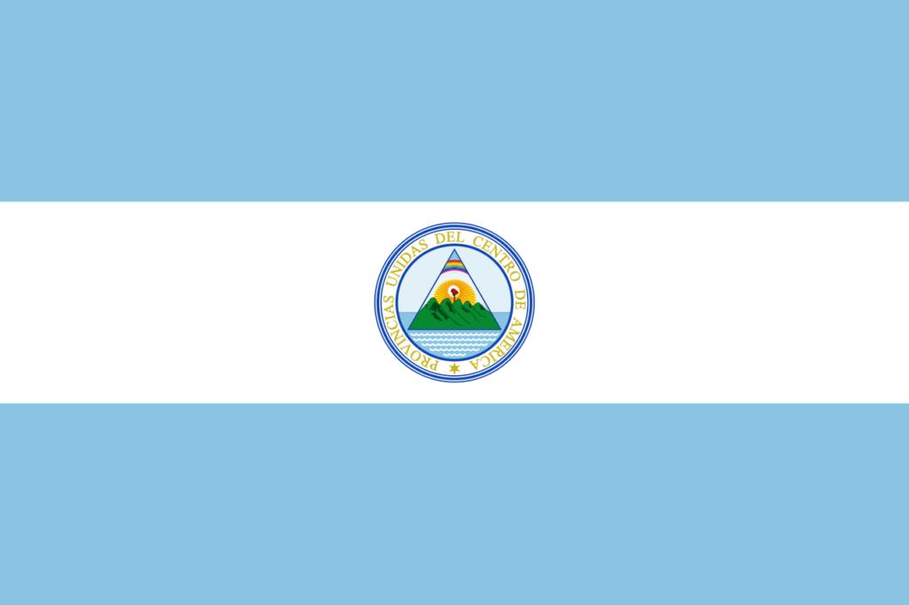 Флаг Сальвадора 21 августа 1823—1824,1842 — 1844