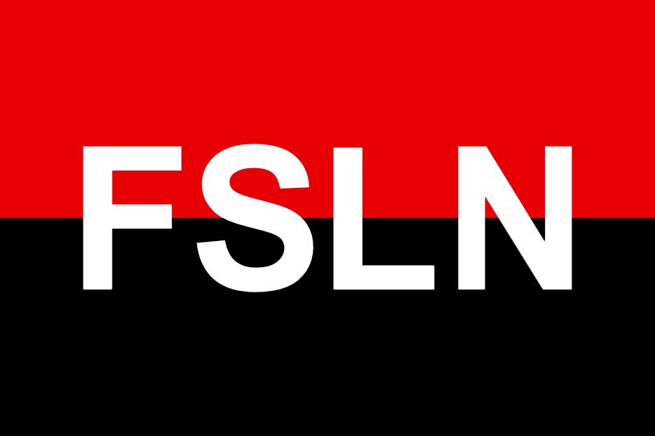 Флаг Сандинистского фронта национального освобождения