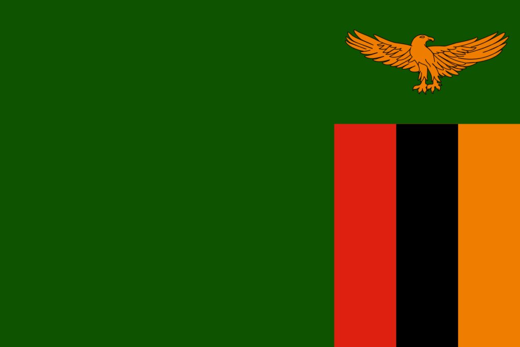 Флаг Замбии (1964–1996)