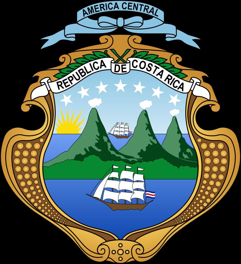 Герб Коста-Рики