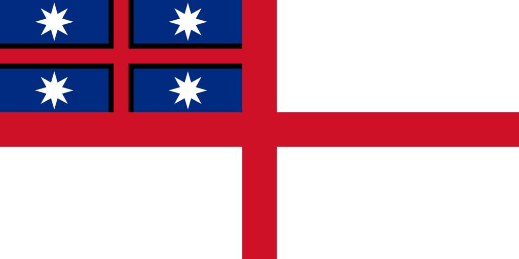 Изначальный дизайн флага объединённых племён