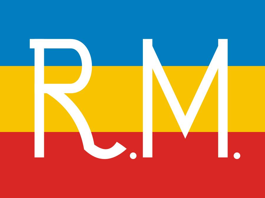 Один из флагов МДР, считавшийся военным