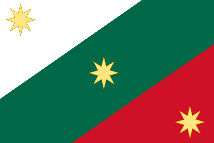 Первый флаг Мексиканской империи