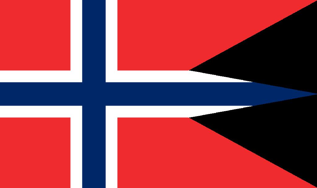 Правительственный и военный флаг