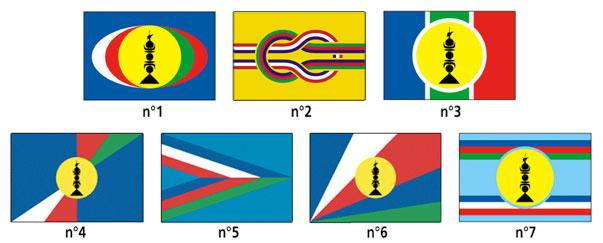 Проекты флагов Новой Каледонии