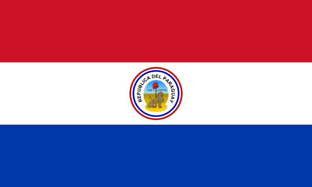 Реверс флага Парагвая (1988-1990)