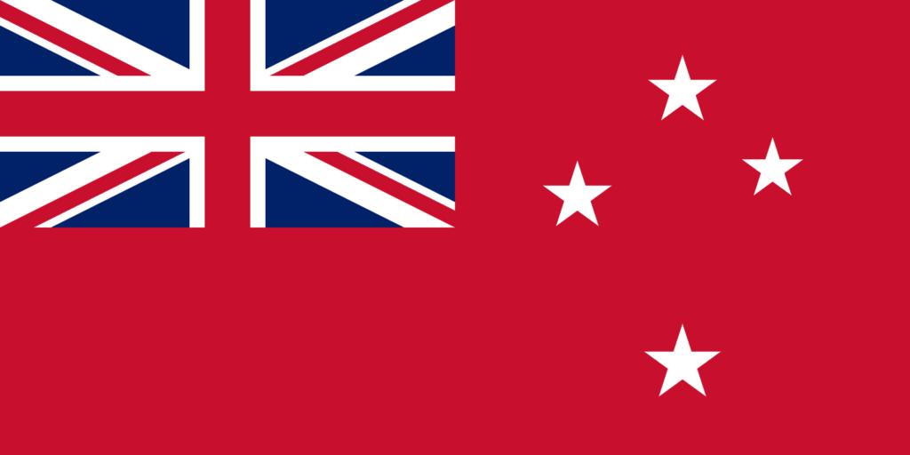 Торговый флаг Новой Зеландии
