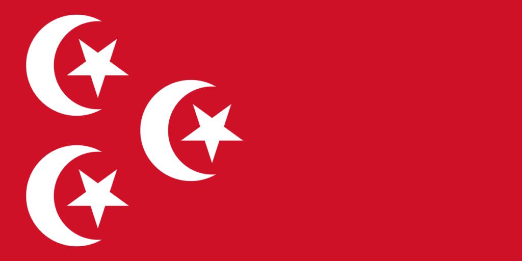 Флаг Египта 1882-1922