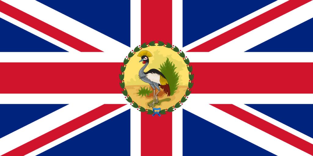Флаг губернатора Британской территории