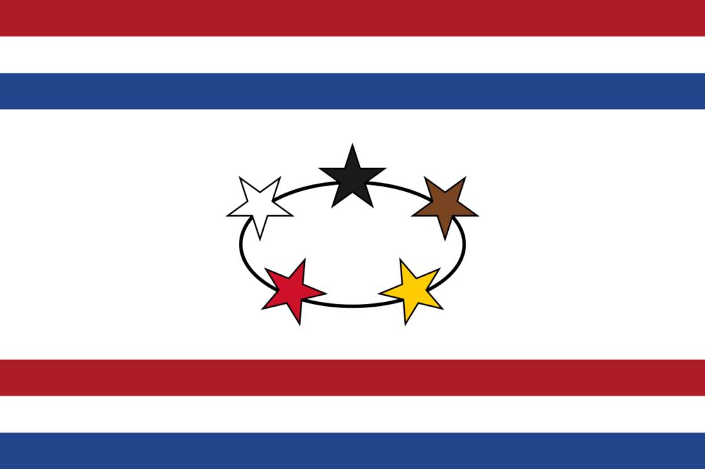Флаг губернатора Нидерландской Гвианы
