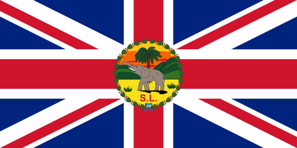 Флаг губернатора Сьерра-Леоне (1889–1916)