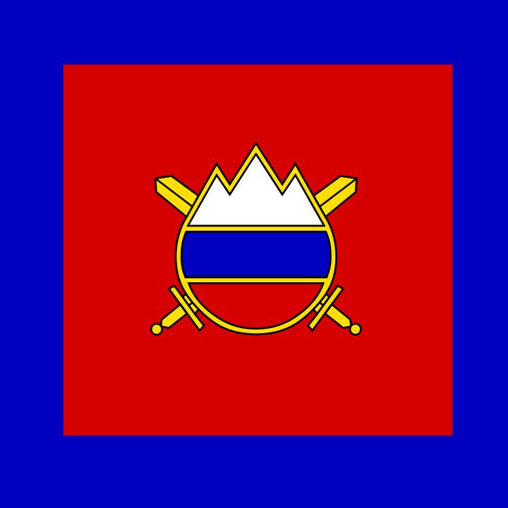 Флаг Министра обороны