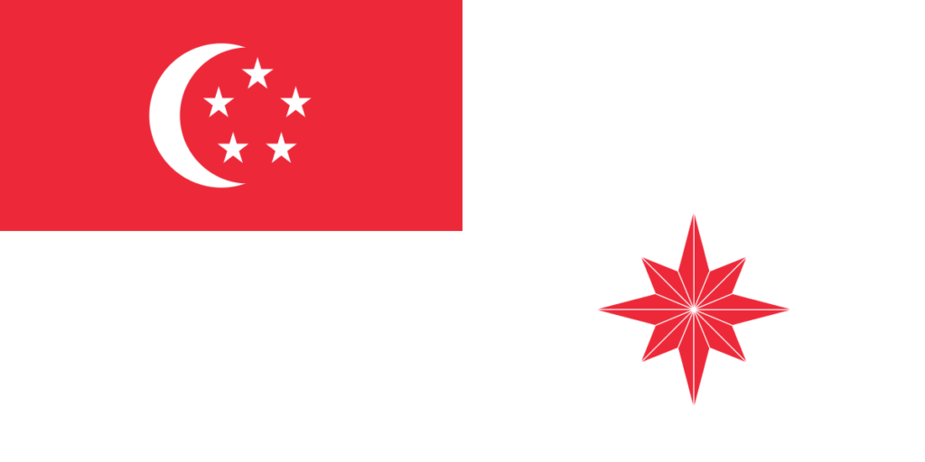 Флаг прапорщика военно-морских сил для военных судов