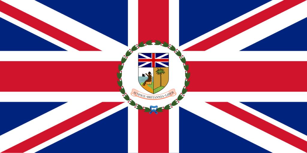 Флаг правителя-губернатора (1916–1961)