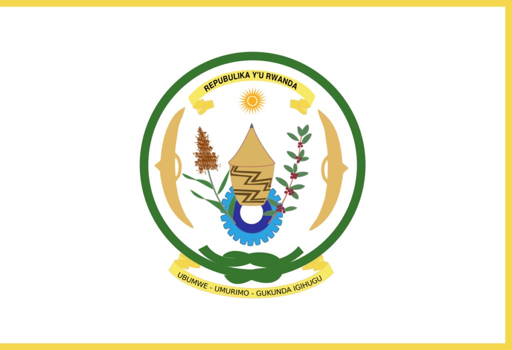Флаг президента Руанды