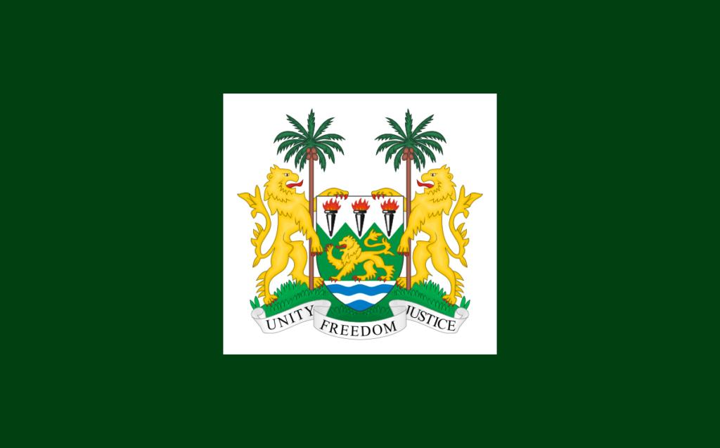 Флаг Президента Сьерра-Леоне