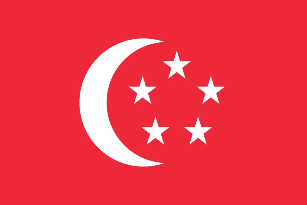 Флаг Президента Сингапура