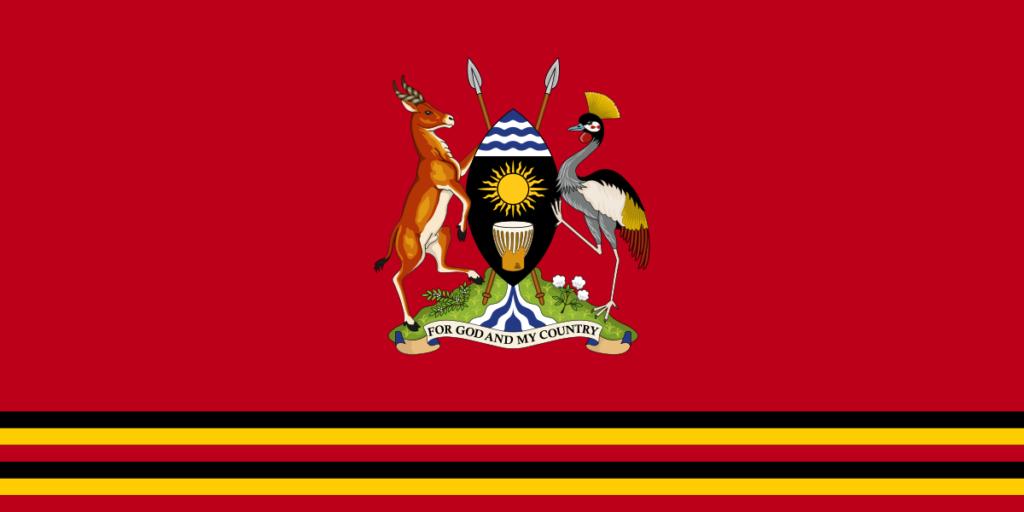 Флаг Президента Уганды
