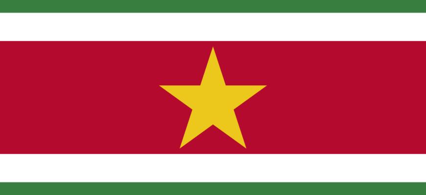 Флаг Республики Суринам