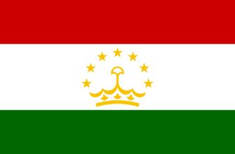 Флаг Республики Таджикистан