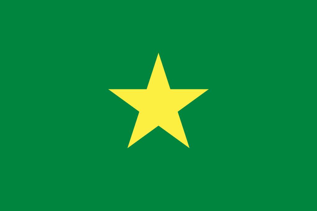 Флаг Сенегала (1958–1959)