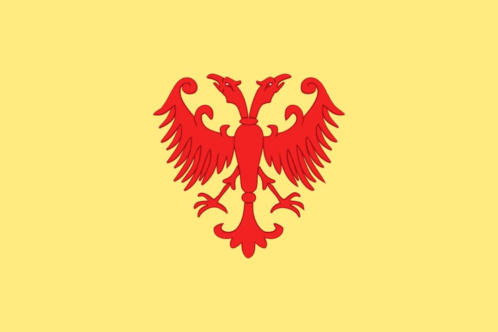 Флаг Сербского царства
