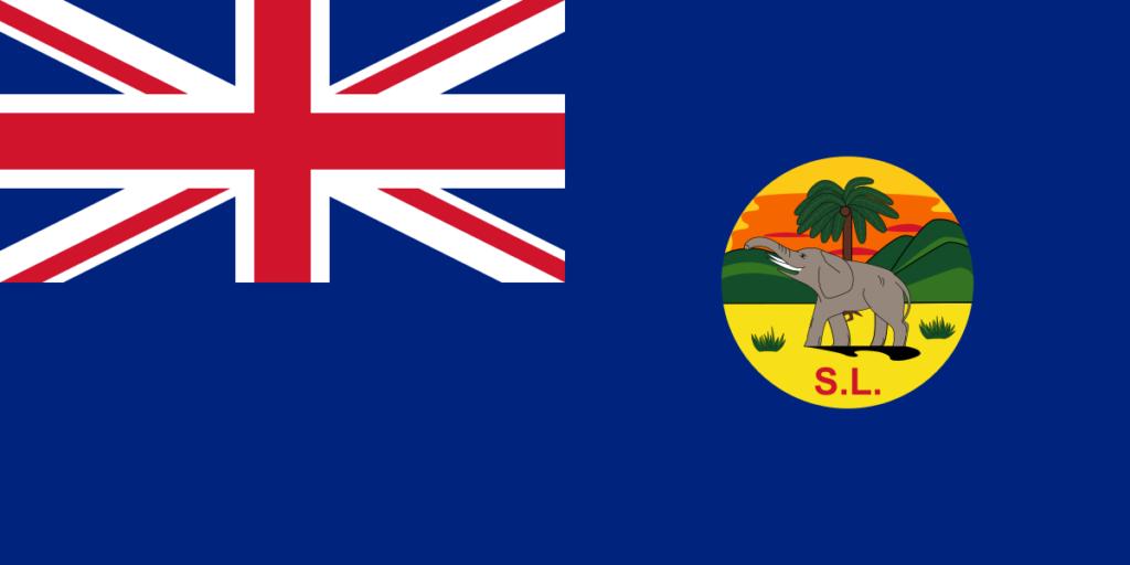 Флаг Сьерра-Леоне (1889–1916)