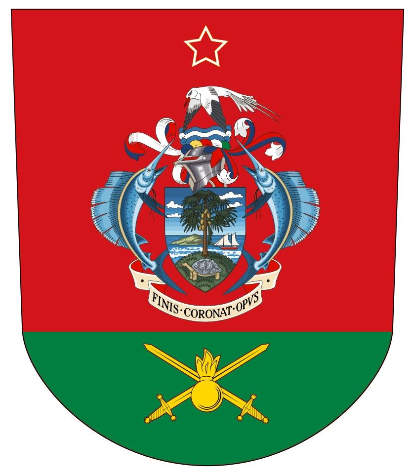 Флаг Сухопутных войск Сейшельских островов