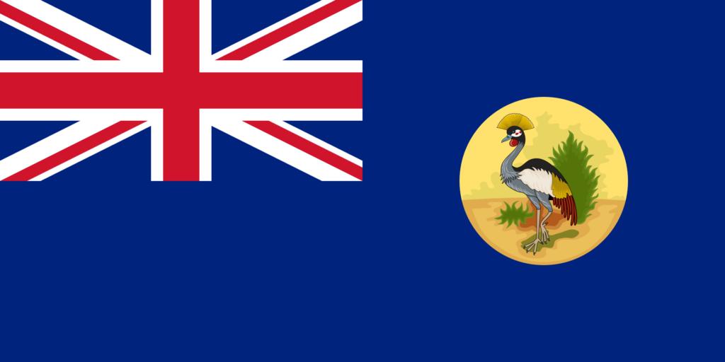 Флаг Уганды 1914 — 1 марта 1962