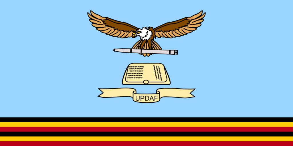 Флаг Военно-воздушных сил Республики Уганды