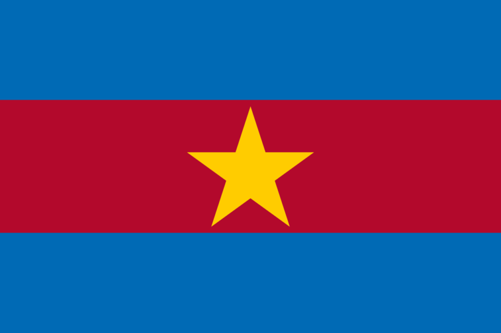 Флаг Вооружённых сил Суринама