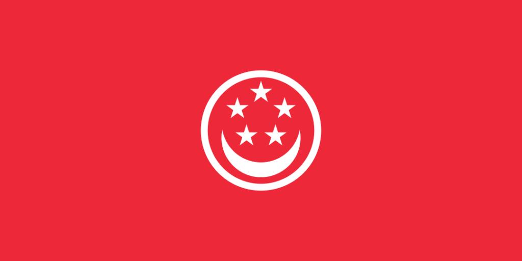 Гражданский флаг Сингапура для судов