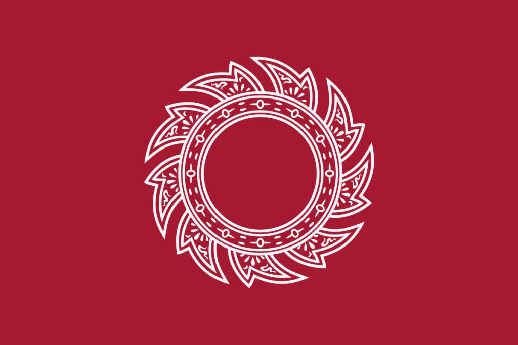 Флаг Таиланда 1782 - 1817