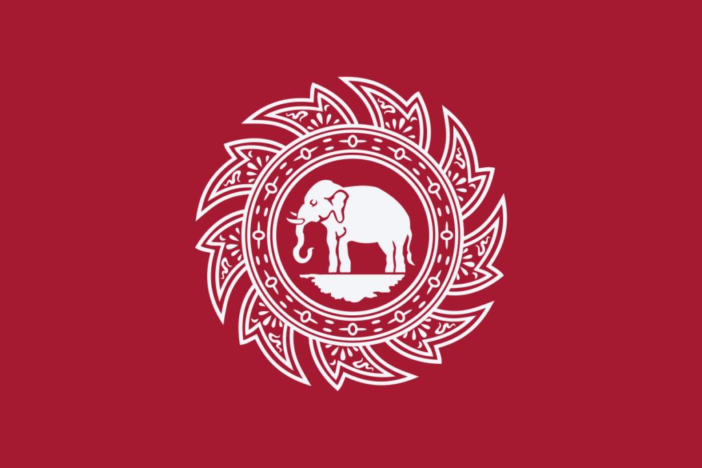 Флаг Таиланда 1817 - 1855